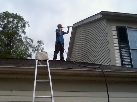 Power Washing Griffith Handyman